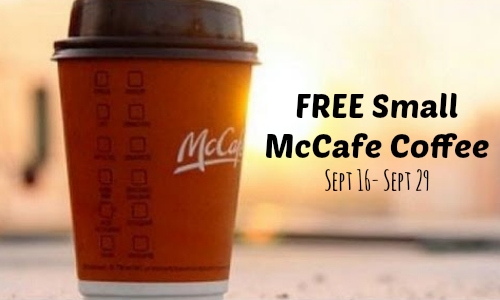 Mcdonalds mccafe coffee event