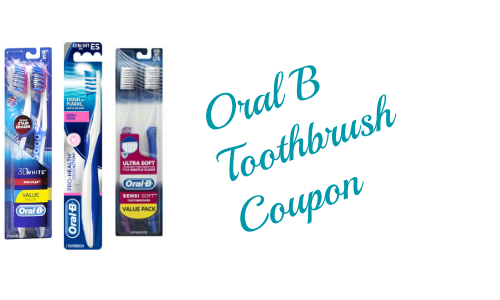 Oral B toothbrush