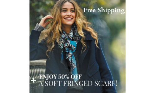 Vera Bradley free shipping and scarf