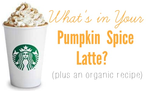 What's in your Pumpkin Spice Latte  Check out an organic alternative to your store-bought latte.