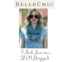 BelleChic Deal: 4 Pack Infinity Scarves, $15.99 Shipped
