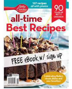 betty crocker free ebook with sign