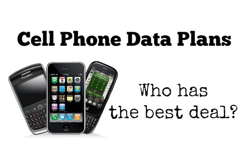 cell phone data plans