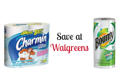 charmin and bounty at walgreens