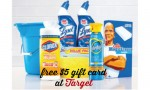 Target Deal: Free $5 Gift Card, Cleaning Supplies As Low As 84¢ ea.