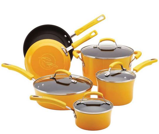 Rachael Ray Cookware Deals: 10-Piece Sets, Starting at $84.99