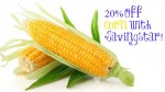 Savingstar eCoupon: 20% Off Corn