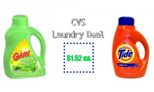 cvs laundry deal