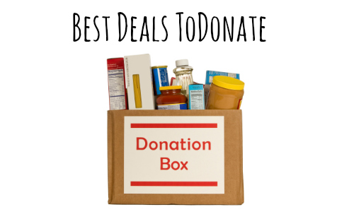 deals to donate