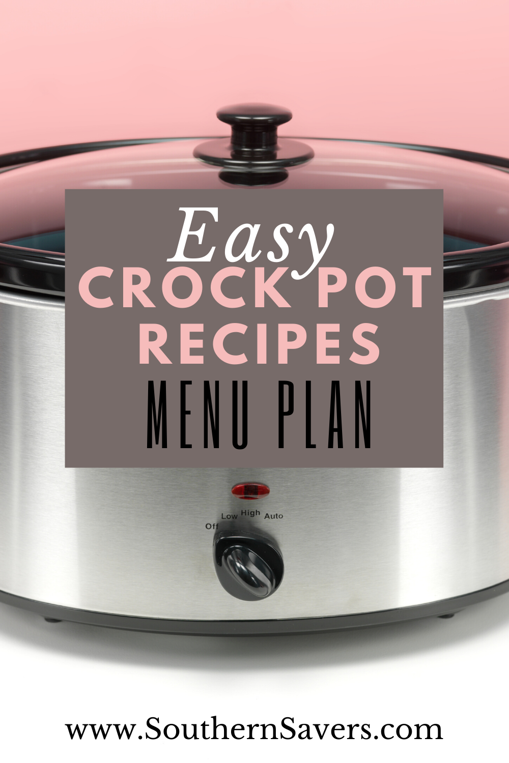 Looking for some easy dinner meals? Here's a list of yummy crock pot recipes to take the hard work out of dinner prep and simplify your mental load.