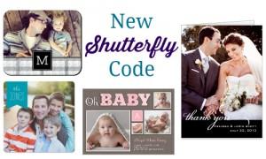 free shutterfly code