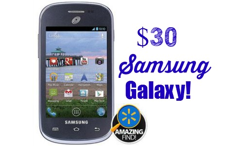 Walmart Deal: Straight Talk Samsung Galaxy, $29 88