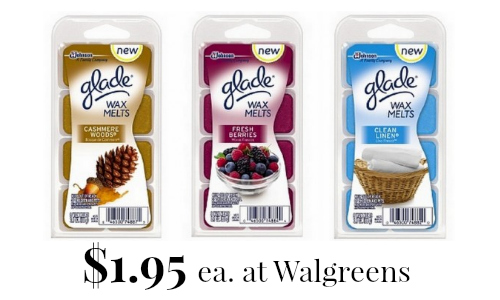 glade wax melts at walgreens