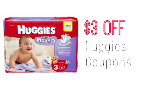 photograph regarding Printable Coupon $3 Off Pull Ups referred to as $3 Off Huggies Coupon + Concentration Diaper Bundle :: Southern Savers
