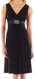 jcpenney black dress