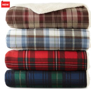 jcpenney plaid throw