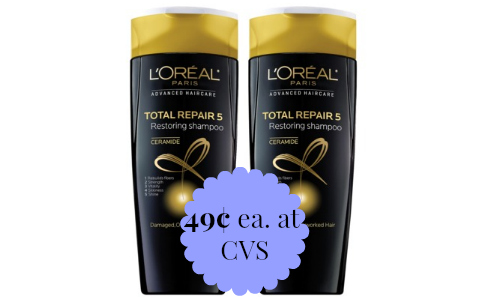 l'oreal shampoo at cvs