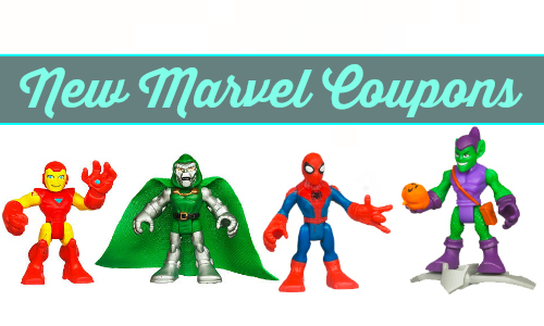 new marvel coupons