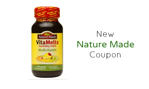 new nature made coupon
