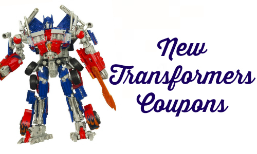 new transformers coupon