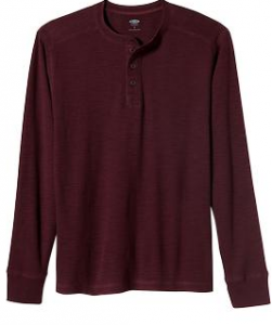 old navy men's henley