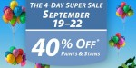 Sherwin Williams 4-Day Sale: 40% Off Paint & Stains