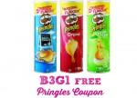 B3G1 FREE Pringles Coupon Reset!