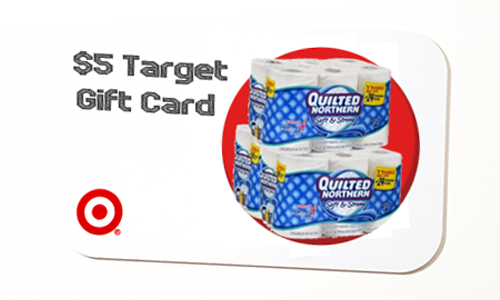 quilted northern target gift card deal