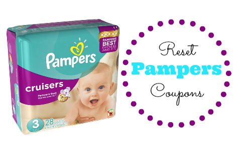 reset pampers coupons