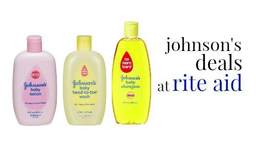 Rite Aid Deal Johnson S Baby Items 1 37 Each