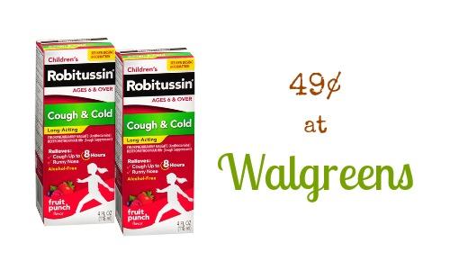 robitussin walgreens