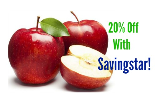 savingstar apples