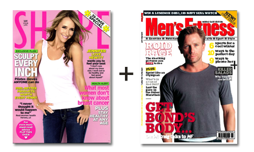 shape and mens fitness magazine subscriptions