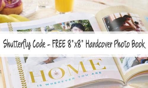 shutterfly free photo book code