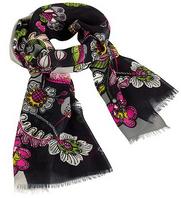soft fringe scarf