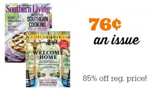 southern living magazine sale