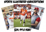 Sports Illustrated Subscription For $24.99 A Year