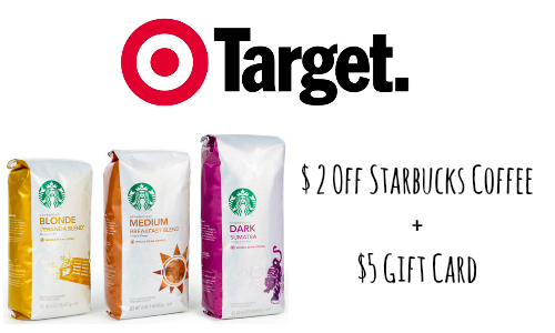 starbucks coupon at target