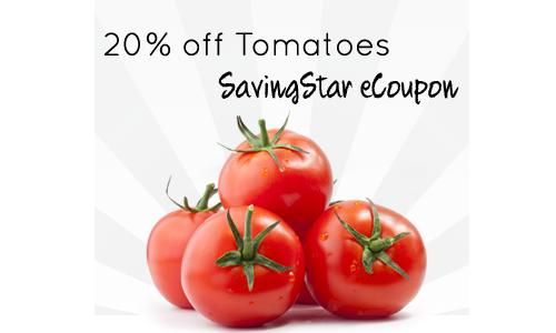 tomatoes savingstar ecoupon