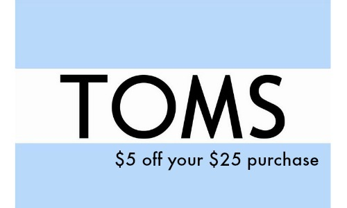 toms coupon