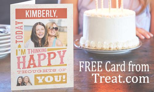treat com free greeting card