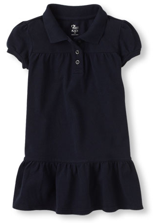 uniform polo dress
