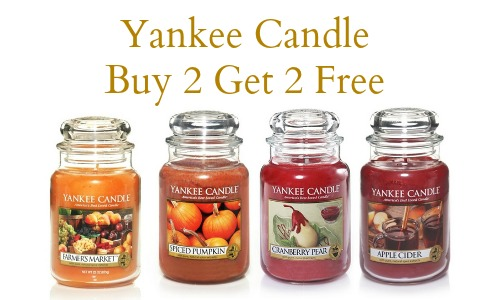yankee candle buy 2 get 2 free