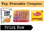 Top Printable Coupons | Freschetta, Kellogg's, Lipton, Tyson & More!