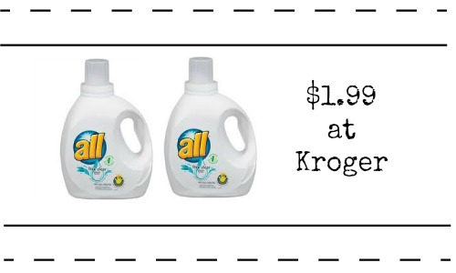 all laundry detergent kroger