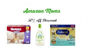 amazon moms 50 off discount