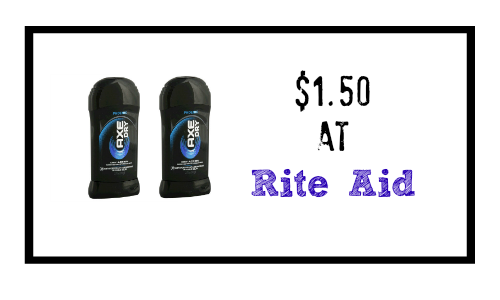 axe deodorant coupon rite aid