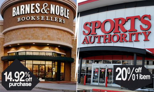barnes n noble and sports authority coupon