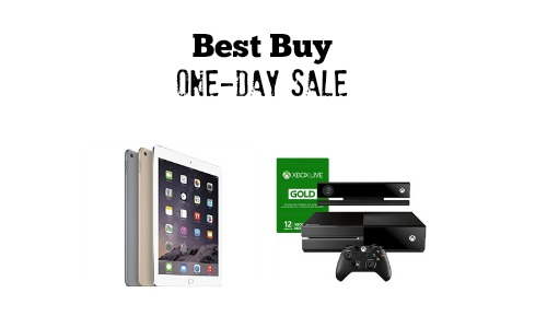 best buy one day sale