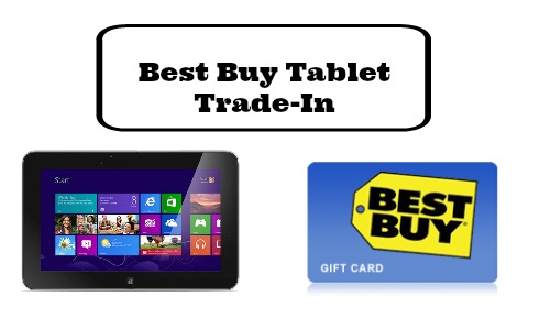 best buy tablet tradein